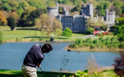 Golf at Dromoland castle for MND!