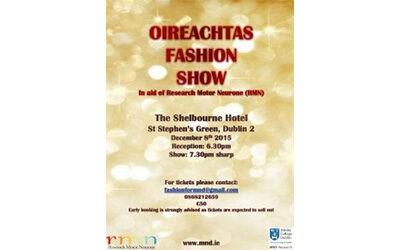 The Annual Oireachtas Christmas Charity Fashion Show
