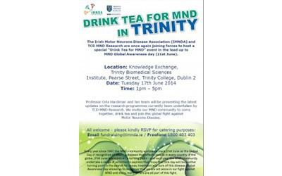 Drink Tea for MND 2014